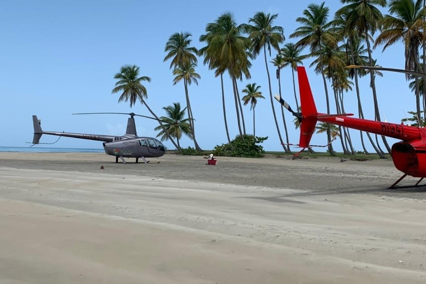 Helikopterem Salto de La Janda